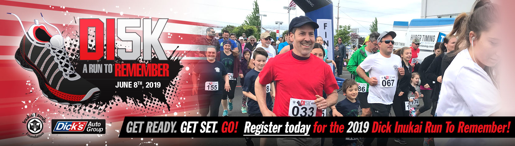 Register for the 2019 DI5K: A Run To Remember June 8th, 2019