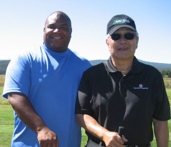 Dick-Inukai-and-Cortlandt-Cuffee-Golfing_350x300